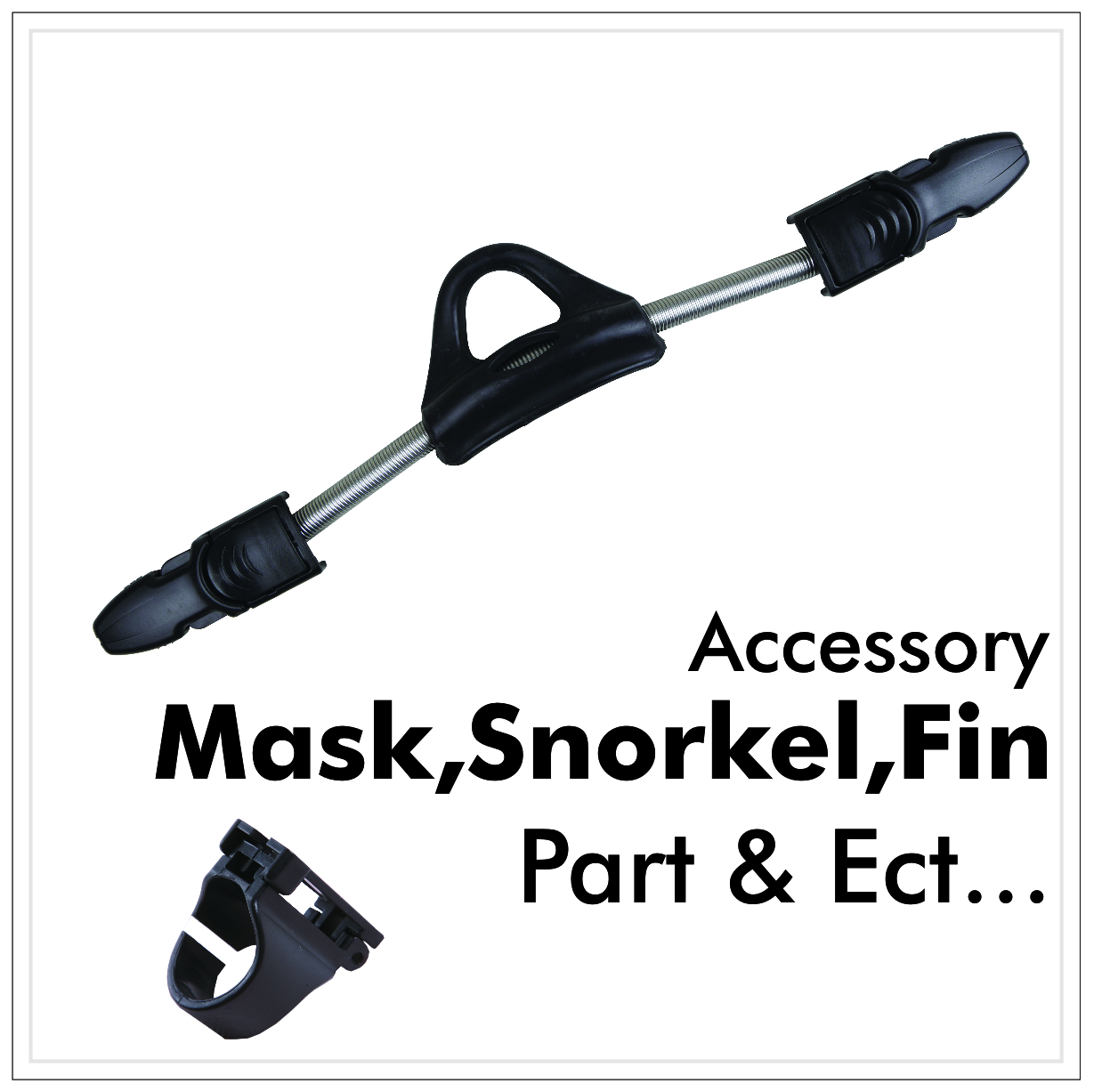 MASK,SNORKEL,FIN, KNIFE,TORCH PARTS